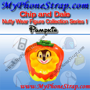 CHIP PUMPKIN BY TOMY ... US NUTTY WEAR FIGURE COLLECTION SERIES 1 DETAIL