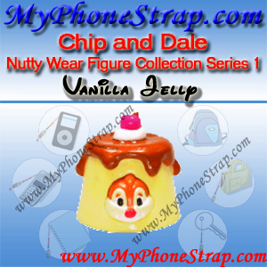 DALE VANILLA JELLY BY TOMY ... US NUTTY WEAR FIGURE COLLECTION SERIES 1 DETAIL