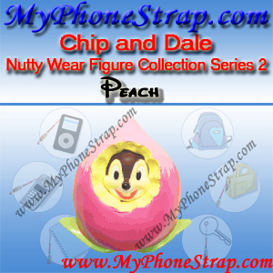CHIP PEACH BY TOMY ... US NUTTY WEAR FIGURE COLLECTION SERIES 2 DETAIL