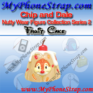 DALE FRUIT CAKE BY TOMY ... US NUTTY WEAR FIGURE COLLECTION SERIES 2 DETAIL