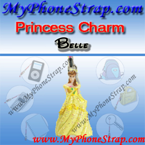 PRINCESS BELLE FIGURE CHARM COLLECTION 1 BY TOMY ... US SPARKLING BEAUTY SERIES DETAIL