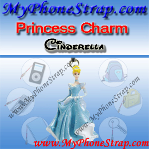 PRINCESS CINDERELLA FIGURE CHARM COLLECTION 1 BY TOMY ... US SPARKLING BEAUTY SERIES DETAIL