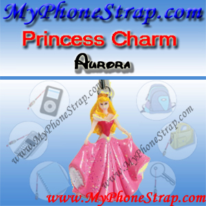 PRINCESS AURORA FIGURE CHARM COLLECTION 1 BY TOMY ... US SPARKLING BEAUTY SERIES DETAIL