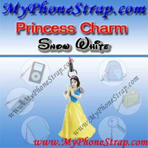 PRINCESS SHOW WHITE FIGURE CHARM COLLECTION 1 BY TOMY ... US SPARKLING BEAUTY SERIES DETAIL