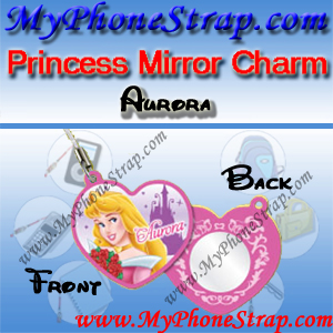 PRINCESS AURORA MIRROR CHARM COLLECTION 1 BY TOMY ... US LOVELY REFLECTIONS SERIES DETAIL