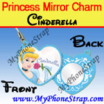 Click here for PRINCESS CINDERELLA MIRROR CHARM COLLECTION 1 BY TOMY ... US LOVELY REFLECTIONS SERIES Detail