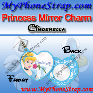 PRINCESS CINDERELLA MIRROR CHARM COLLECTION 1 BY TOMY ... US LOVELY REFLECTIONS SERIES DETAIL