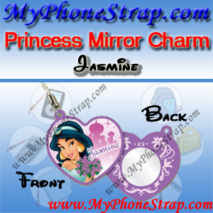 PRINCESS JASMINE MIRROR CHARM COLLECTION 1 BY TOMY ... US LOVELY REFLECTIONS SERIES DETAIL