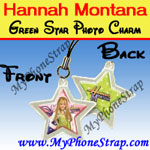 Click here for HANNAH MONTANA GREEN STAR BY TOMY -- US PHOTO CHARM COLLECTION 1 Detail