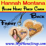 Click here for HANNAH MONTANA YELLOW HEART BY TOMY -- US PHOTO CHARM COLLECTION 1 Detail