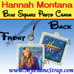Click here for HANNAH MONTANA BLUE SQUARE BY TOMY -- US PHOTO CHARM COLLECTION 1 Detail