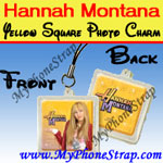 Click here for HANNAH MONTANA YELLOW SQUARE BY TOMY -- US PHOTO CHARM COLLECTION 1 Detail