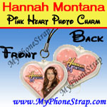 Click here for HANNAH MONTANA PINK HEART BY TOMY -- US PHOTO CHARM COLLECTION 1 Detail