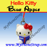Click here for HELLO KITTY BLUE APPLE BY TOMY ... US APPLE CHARM COLLECTION SERIES 1 Detail
