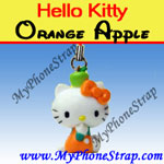 Click here for HELLO KITTY ORANGE APPLE BY TOMY ... US APPLE CHARM COLLECTION SERIES 1 Detail