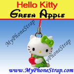 Click here for HELLO KITTY GREEN APPLE BY TOMY ... US APPLE CHARM COLLECTION SERIES 1 Detail