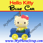 Click here for HELLO KITTY BLUE CAR BY TOMY ... US FIGURE CHARM COLLECTION 2 RETRO SERIES Detail