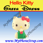 Click here for HELLO KITTY GREEN DRESS BY TOMY ... US FIGURE CHARM COLLECTION 2 RETRO SERIES Detail