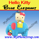 Click here for HELLO KITTY BLUE ELEPHANT BY TOMY ... US FIGURE CHARM COLLECTION 2 RETRO SERIES Detail