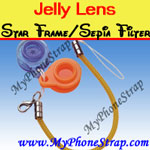Click here for JELLY LENS -- STAR FRAME SEPIA FILTER LENS 403H Detail