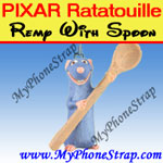 Click here for PIXAR RATATOUILLE MOIVE FIGURE REMY WITH SPOON BY TOMY ... US FIGURE CHARM COLLECTION Detail