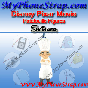 PIXAR RATATOUILLE MOIVE FIGURE SKINNER BY TOMY ... US FIGURE CHARM COLLECTION DETAIL