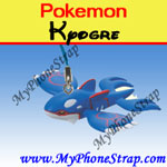POKEMON KYOGRE BY TOMY ... US FUN FIGURE CHARMS SERIES 3 image