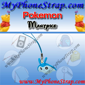 POKEMON MANTYKE BY TOMY ... US FUN FIGURE CHARMS SERIES 3 DETAIL