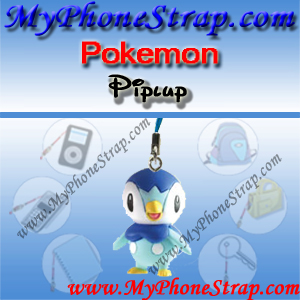 POKEMON PIPLUP BY TOMY ... US FUN FIGURE CHARMS SERIES 4 DETAIL