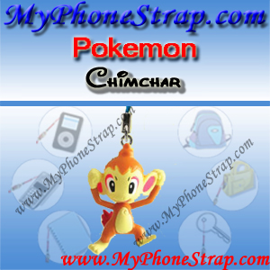 POKEMON CHIMCHAR BY TOMY ... US FUN FIGURE CHARMS SERIES 4 DETAIL