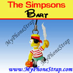 Click here for BART SIMPSON BY TOMY ... US FIGURE CHARM COLLECTION 1 HALLOWEEN SERIES Detail