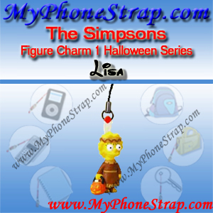 LISA SIMPSON BY TOMY ... US FIGURE CHARM COLLECTION 1 HALLOWEEN SERIES DETAIL