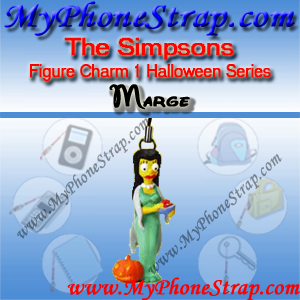 MARGE SIMPSON BY TOMY ... US FIGURE CHARM COLLECTION 1 HALLOWEEN SERIES DETAIL