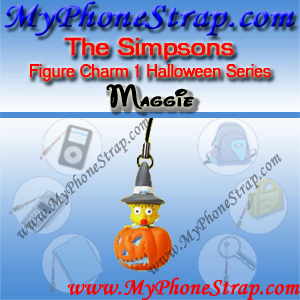 MAGGIE SIMPSON BY TOMY ... US FIGURE CHARM COLLECTION 1 HALLOWEEN SERIES DETAIL
