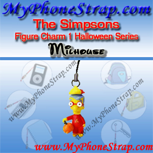 MILHOUSE VAN HOUTEN BY TOMY ... US FIGURE CHARM COLLECTION 1 HALLOWEEN SERIES DETAIL