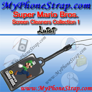 NINTENDO DS SUPER MARIO BROS. -- LUIGI -- BY TOMY -- US SCREEN CLEANERS COLLECTION 1 DETAIL