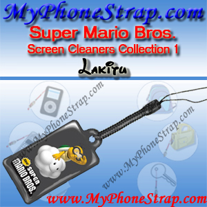 NINTENDO DS SUPER MARIO BROS. -- LAKITU -- BY TOMY -- US SCREEN CLEANERS COLLECTION 1 DETAIL
