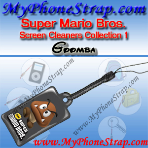 NINTENDO DS SUPER MARIO BROS. -- GOOMBA -- BY TOMY -- US SCREEN CLEANERS COLLECTION 1 DETAIL
