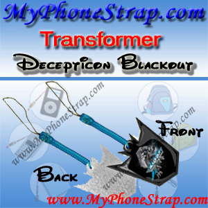DECEPTICON BLACKOUT TRANSFORMER BY TOMY ... US SCREEN CLEANERS CHARMS 1 DETAIL