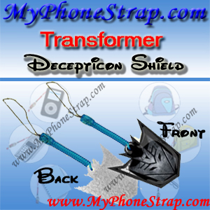 DECEPTICON SHIELD TRANSFORMER BY TOMY ... US SCREEN CLEANERS CHARMS 1 DETAIL
