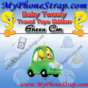 BABY TWEETY GREEN CAR BY COOLTHINGS ... TRAVEL TOYS SERIES DETAIL