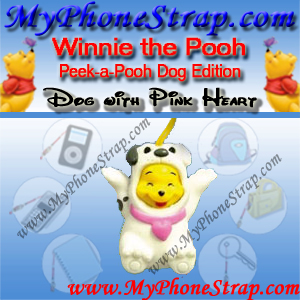 WINNIE THE POOH BLACK AND WHITE DOG PEEK-A-POOH BY TOMY ... EUROPE MINI WINNIES DOG COLLECTION DETAIL