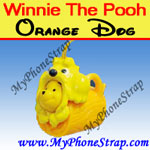 Click here for WINNIE THE POOH ORANGE DOG WITH BAG PEEK-A-POOH BY TOMY ... EUROPE MINI WINNIES DOG COLLECTION Detail