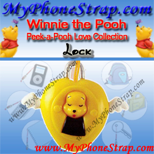 WINNIE THE POOH LOCK PEEK-A-POOH BY TOMY ... EUROPE MINI WINNIES LOVE COLLECTION DETAIL