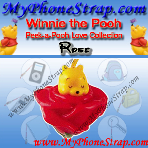 WINNIE THE POOH ROSE PEEK-A-POOH BY TOMY ... EUROPE MINI WINNIES LOVE COLLECTION DETAIL