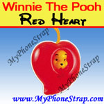 Click here for WINNIE THE POOH RED HEART PEEK-A-POOH BY TOMY ... EUROPE MINI WINNIES LOVE COLLECTION Detail