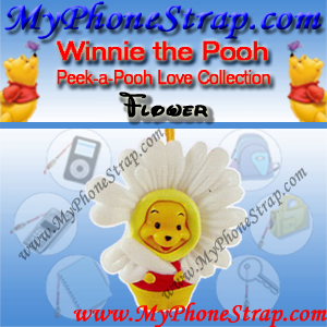 WINNIE THE POOH FLOWER PEEK-A-POOH BY TOMY ... EUROPE MINI WINNIES LOVE COLLECTION DETAIL