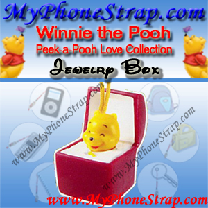 WINNIE THE POOH JEWELRY BOX PEEK-A-POOH BY TOMY ... EUROPE MINI WINNIES LOVE COLLECTION DETAIL