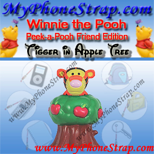 TIGGER APPLE TREE PEEK-A-POOH BY TOMY ... JAPAN FRIENDS EDITION DETAIL