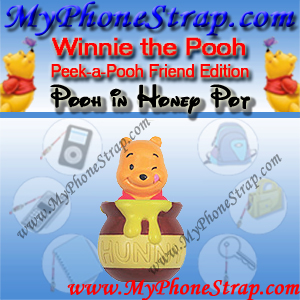 WINNIE THE POOH HONEY POT PEEK-A-POOH BY TOMY ... JAPAN FRIENDS EDITION DETAIL